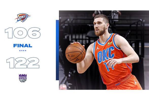 Баскетбол: Михайлюк продолжил серию результативных выступлений в матчах НБА