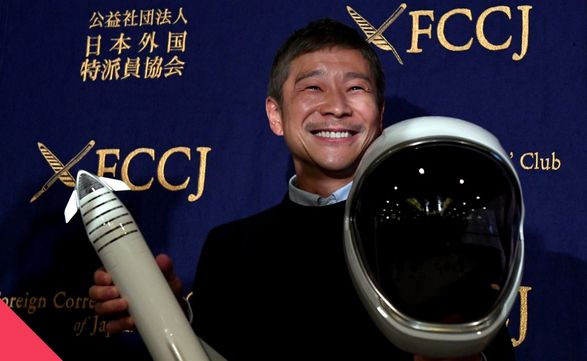 Космический туризм: японский миллиардер Маедзава в декабре полетит на МКС
