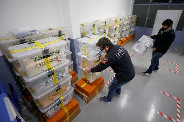 Правящая в Чили коалиция проиграла на выборах в Учредительное собрание