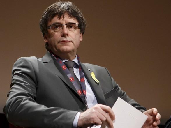 Экс-лидер сеператистив Каталонии Пучдемон обжаловал в суде ЕС решение Европарламента о снятии с него иммунитета