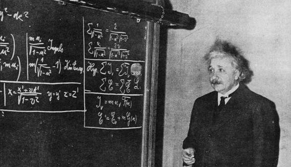 В США продали рукописное письмо Эйнштейна с формулой E=mc2