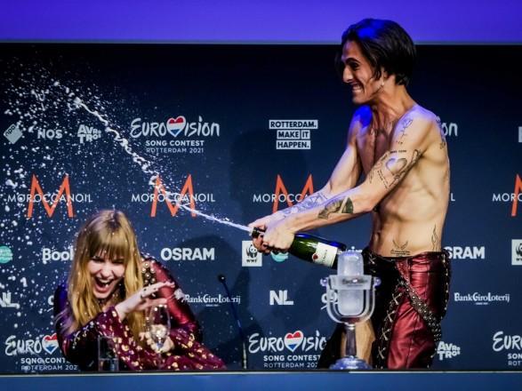 Евровидение-2021: представители Италии вернулись домой и сдавать тест на наркотики, это поддержал глава МИД Франции