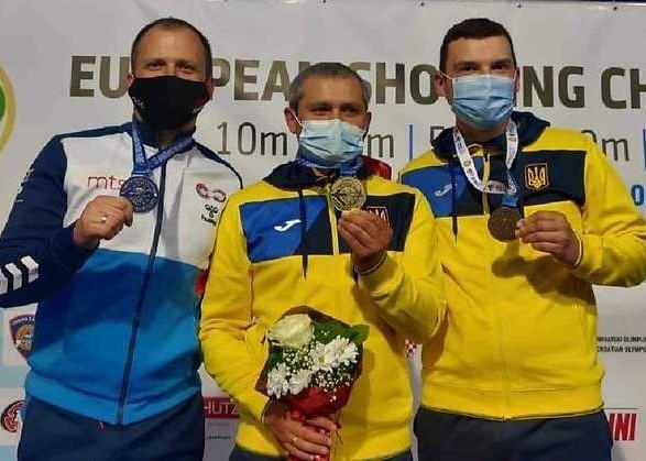Украина завоевала вторую золотую медаль на чемпионате Европы по стрельбе