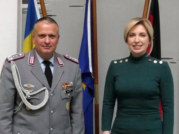 Верещук рассказала о встрече с военным атташе Германии