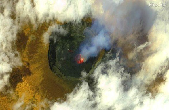 В Конго началось извержение еще одного вулкана