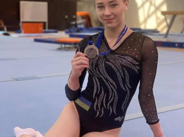 Украина завоевала еще три медали на Кубке Вызова по спортивной гимнастике