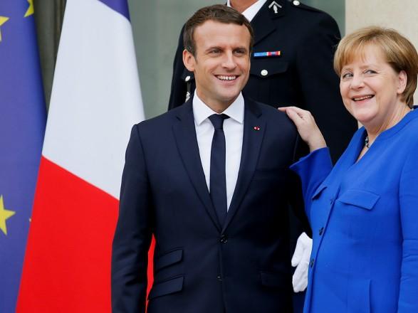 Меркель и Макрон заявили, что ситуация в Беларуси не повлияет на переговоры в нормандском формате
