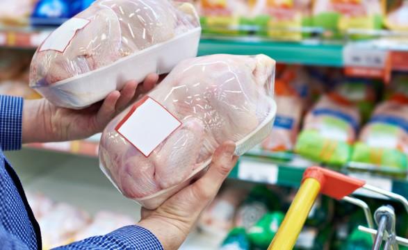В Украину снова завезли импортную курятину с сальмонеллой