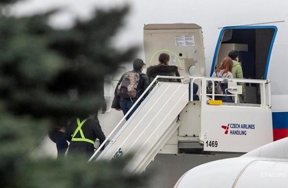 Из Чехии выехали все выдворены российские дипломаты