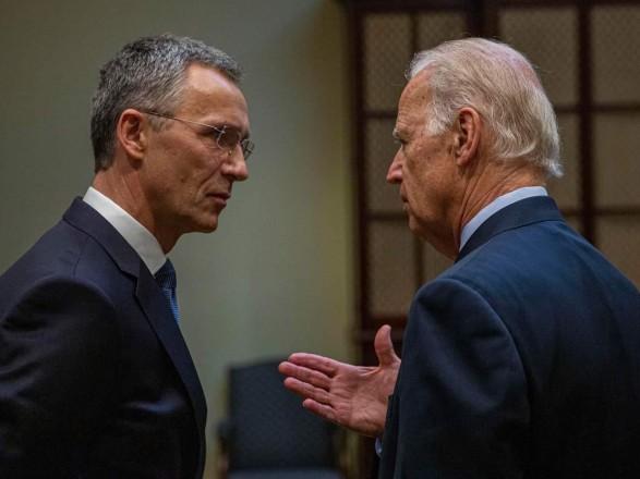 Байден встретится с генсеком НАТО в Вашингтоне 7 июня