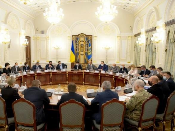Сегодня СНБО может ввести санкции против пяти нардепов