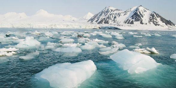 Морской лед в Арктике истончается вдвое быстрее, чем предполагалось