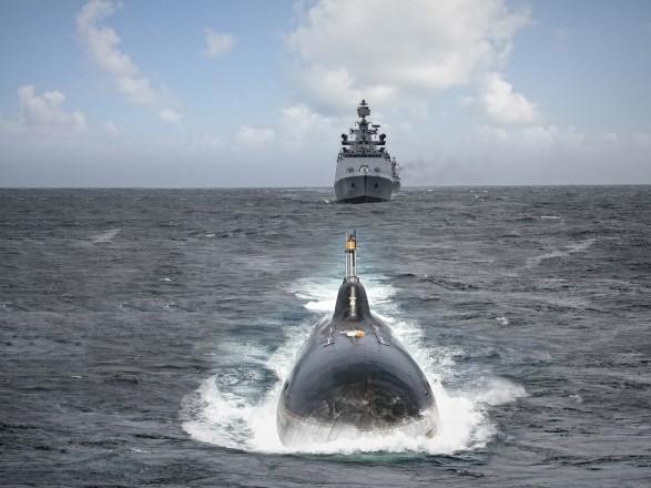Арендованная ранее Индией атомная подводная лодка возвращается в Россию