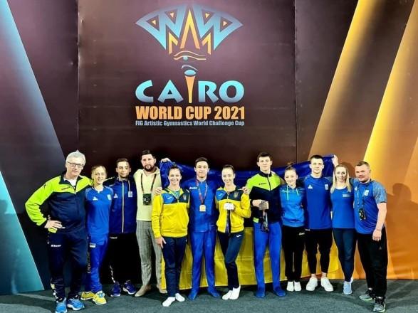 Сборная Украины получила ряд медалей на Кубке мира по спортивной гимнастике