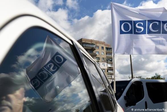 """ОБСЕ зафиксировала более 100 нарушений """"режима тишины"""" на Востоке на выходных"""