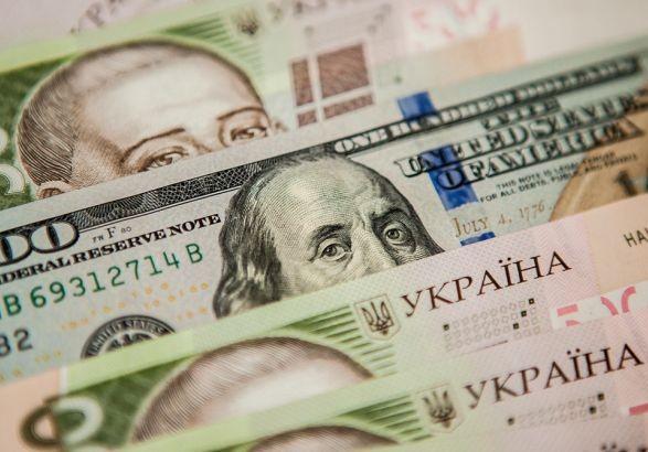 Официальный курс гривны установлен на уровне 27 грн/доллар