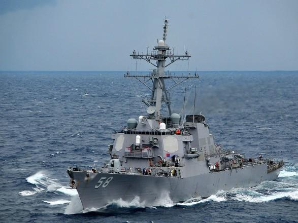 Ракетний есмінець ВМС США прямує до Чорного моря