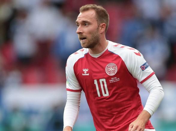 Євро-2020: півзахисник збірної Данії Еріксен залишається в лікарні для подальшого обстеження, його стан стабільний