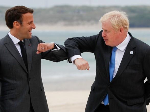 На саммите G7 Макрон и Джонсон поссорились из-за комментариев касательно британских границ - Telegraph