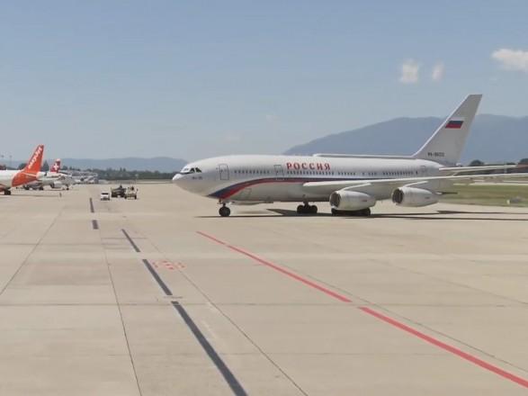 Путин прибыл в Женеву на встречу с Байденом