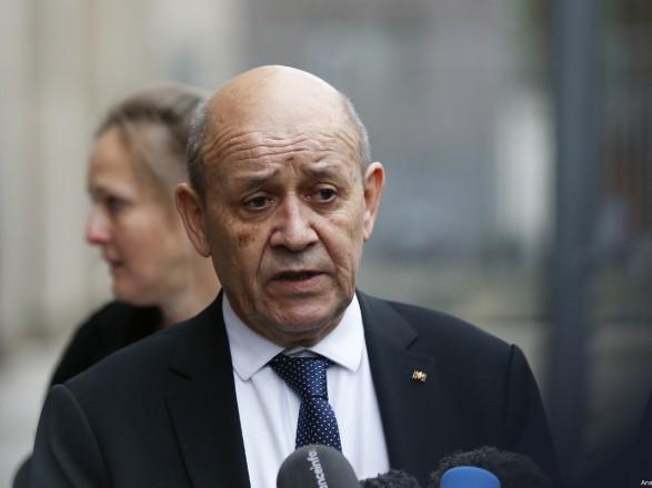 Глава МИД Франции: В настоящий момент условия для приема Украины в НАТО не сложились