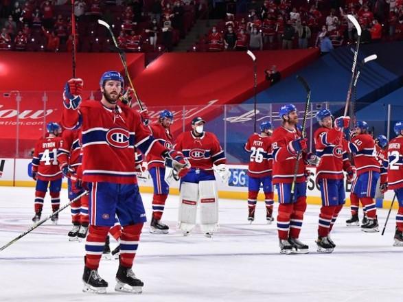 """Хоккей: """"Монреаль"""" вышел вперед в полуфинальной серии плей-офф Кубка Стэнли"""