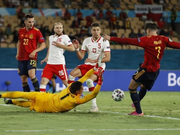 Сборная Испании впервые за 27 лет не обыграла Польшу