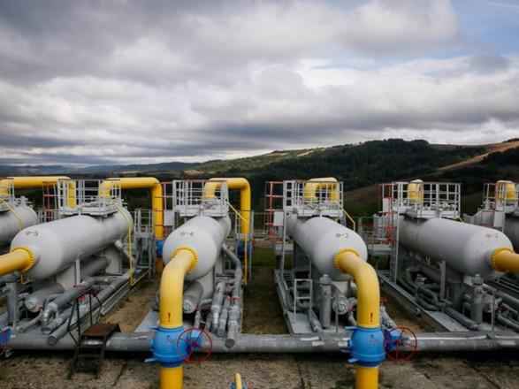 Украина после возобновления закачки пополнила запасы газа в ПХГ меньше чем 5%