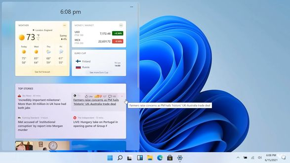 Microsoft представила новую операционную систему Windows 11