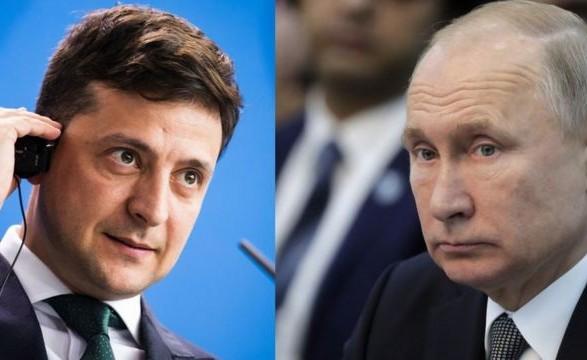 Зеленский о встрече с Путиным: мяч сегодня на стороне России