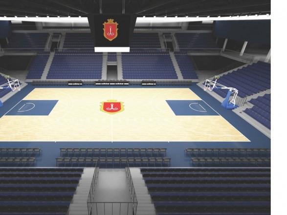 Одесситам насчитали 8 млн грн за проектную документацию Дворца спорта