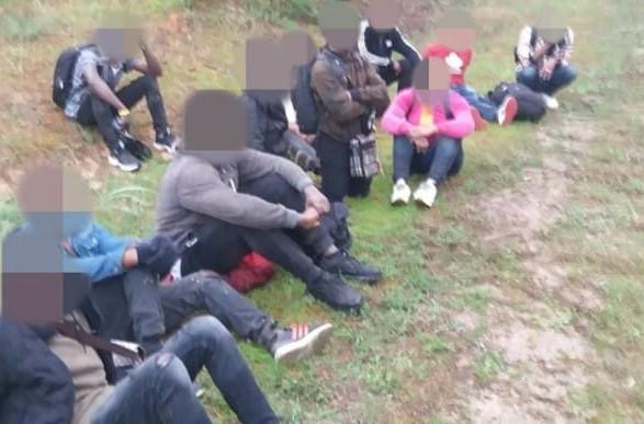 На границе с Литвой пограничники открыли огонь из-за сопротивления белорусских мигрантов
