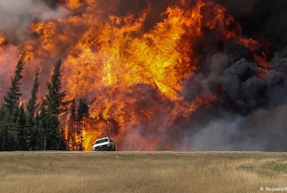 Лесные пожары в Канаде: власть привлекает военных