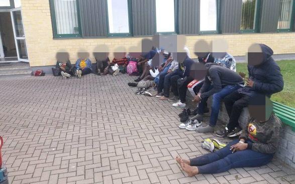 Литовские пограничники задержали 160 нелегалов из Беларуси