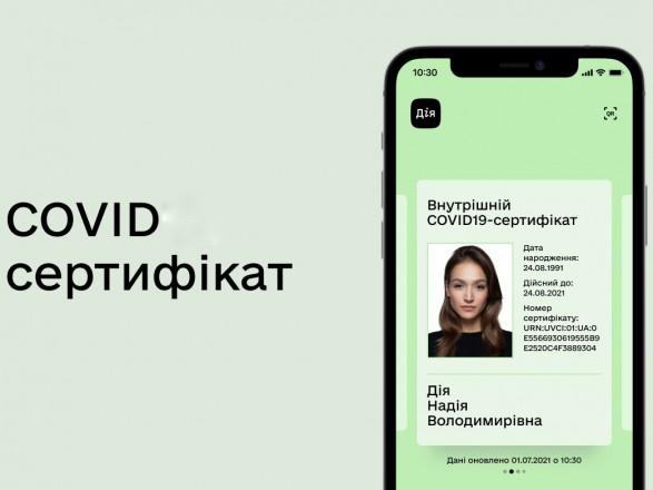 В Дии уже доступны первые цифровые COVID-сертификаты