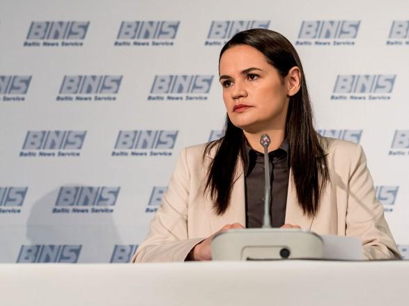 Литва предоставила дипломатический статус офису Тихановской