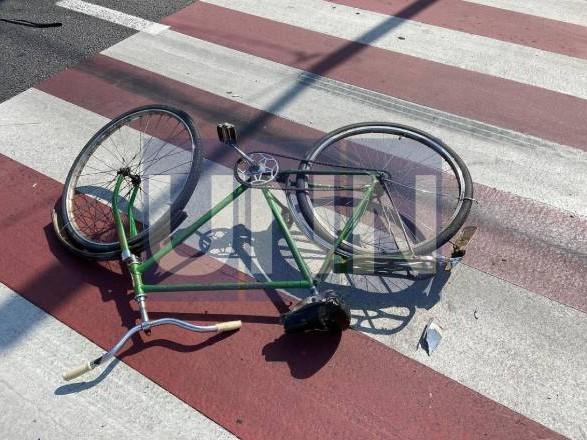 Водитель Skoda устроил ДТП с участием автомобиля и велосипеда