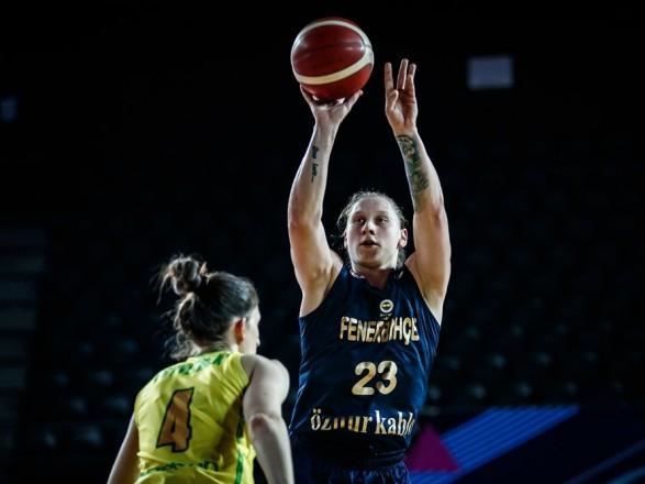 Баскетбол: капитан женской сборной Украины согласовал новый контракт с турецким грандом