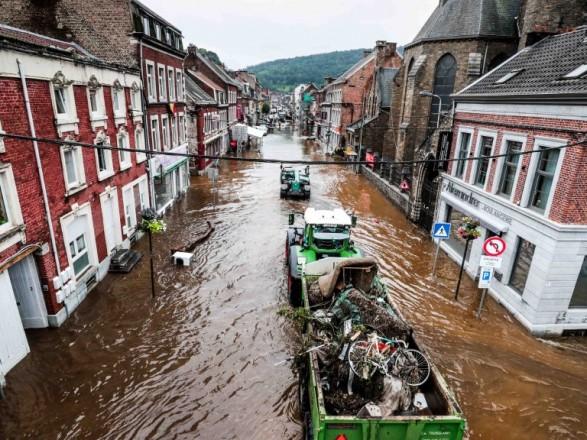 Наводнение в Бельгии унесло жизни уже 31 человека, еще 163 считаются пропавшими без вести