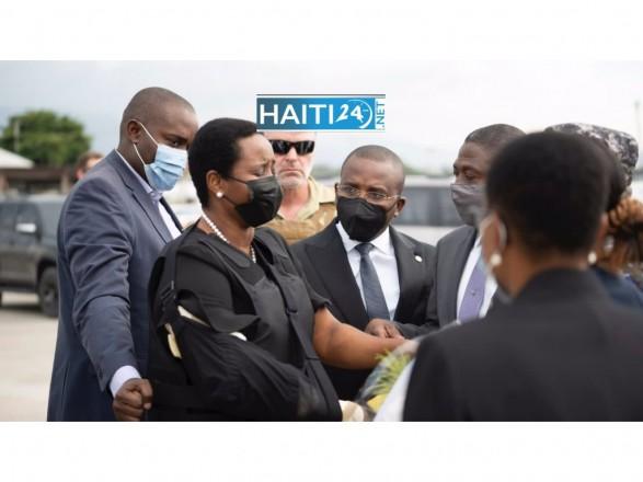 Вдова убитого президента Гаити вернулась на родину