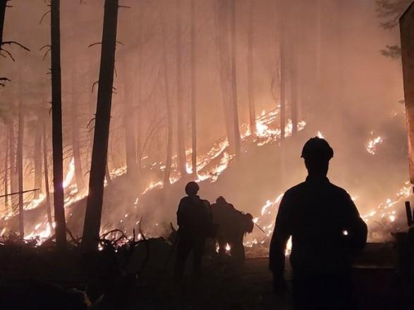 В США природные пожары охватили более 470 тыс. гектаров земли