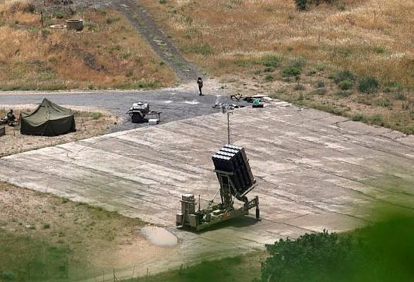 Израиль заявляет о ракетном обстреле со стороны Ливана