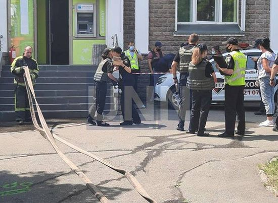 Ограбление банка в Киеве: полиция рассказала детали