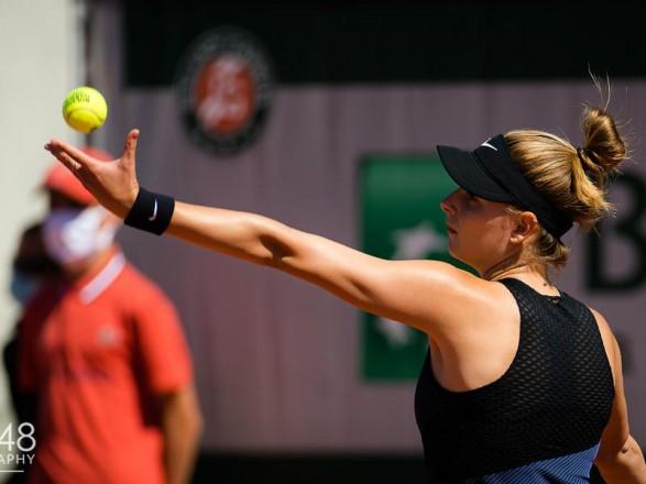 Теннисистка Завацкий выиграла первый поединок на турнире WTA в Палермо