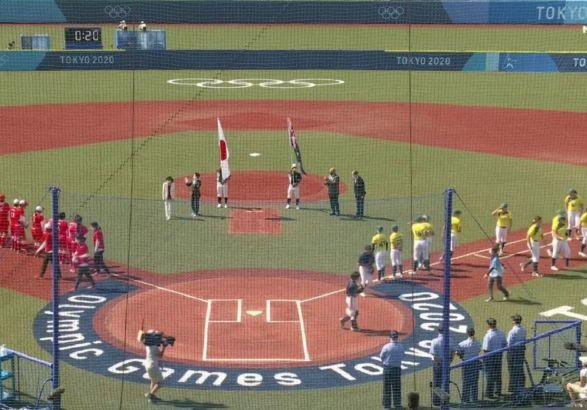 Олимпиада-2020: в Японии уже стартовали соревнования по софтболу