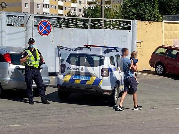 В Киеве беременная вместе с двумя маленькими детьми попала в ДТП