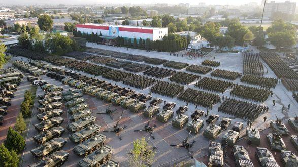 Таджикистан провел крупнейшие военные учения в истории страны