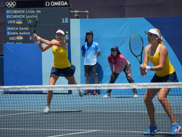 Олимпиада в Токио: теннисистки Киченок одержали победу на старте турнира