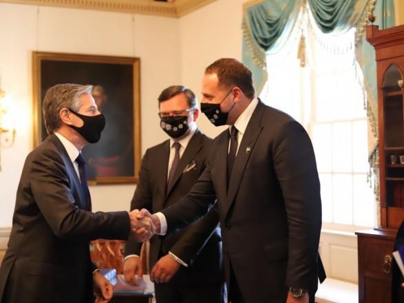 Во время встречи Блинкена и Кулебы в Вашингтоне отметили прогресс Украины в борьбе с коррупцией
