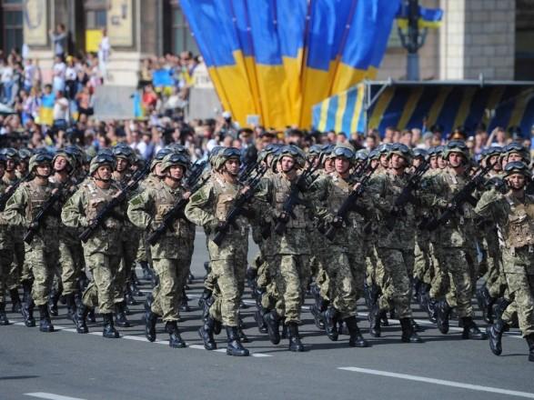 Финальная репетиция военного парада в Киеве: перекроют улицы, изменят движение общественного транспорта
